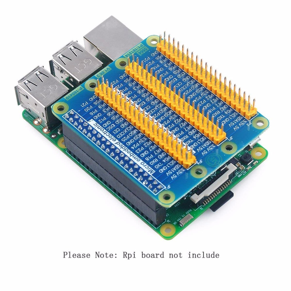 Image 5 - Raspberry Pi  GPIO Expansion Extension Board One Row To Be Three Rows GPIO For Raspberry Pi 3 Pi 2 Pi Model B+-in Demo Board Accessories from Computer & Office