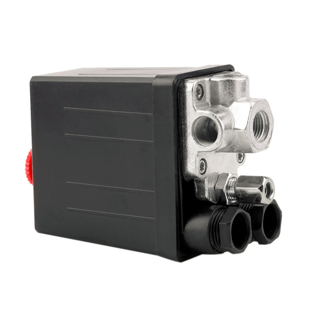 High Quality 1 Pcs Heavy Duty Air Compressor Pressure Switch Control Valve 90 PSI -120 PSI DropShipping high quality 1pc heavy duty air compressor pressure switch control valve 90 psi 120 psi air compressor switch control