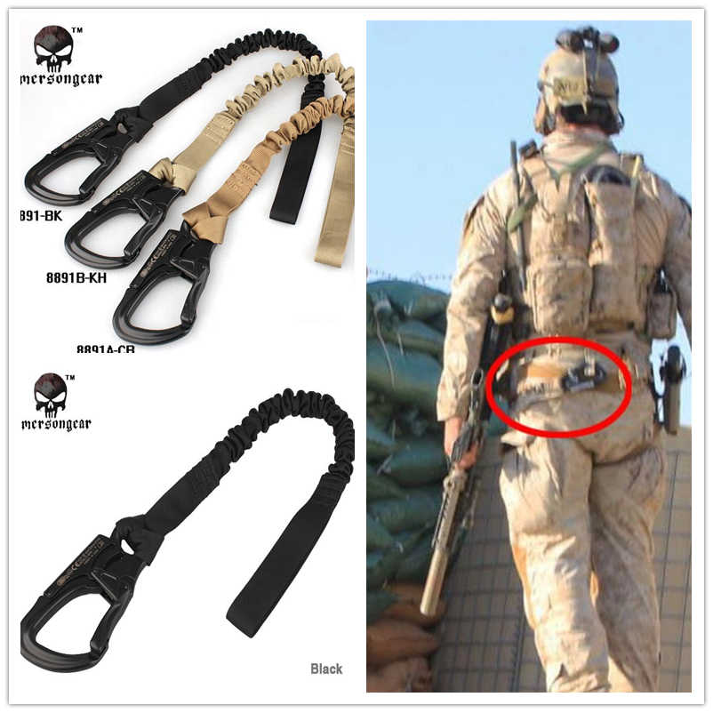 Emersongear Yates Navy SEAL Save Sling Airsoft gear Military Combat Gear Paintball Equipment EM8891 Black Khaki Coyote Brown