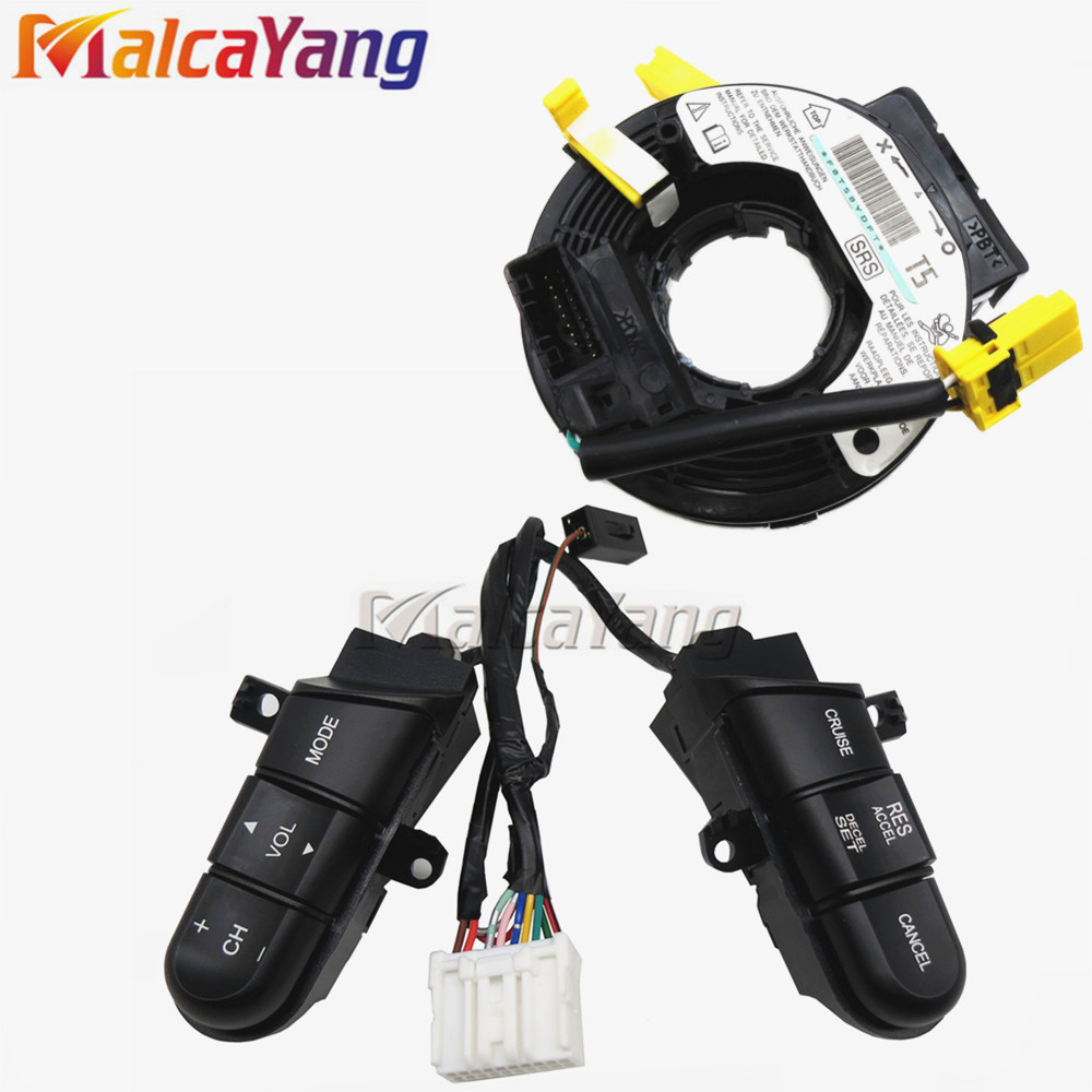 car styling For Honda Civic 2006 2007 2008 2009 2010 Steering Wheel Cruise Control Bluetooth Switches
