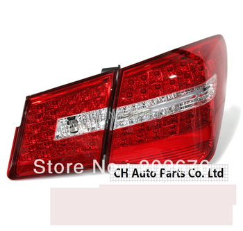 FREE SHIPPING, CAR LED TAIL LIGHT REAR LAMP ASSEMBLY V1 RED AND SMOKED BLACK AVAILABLE FOR CHEVROLET CHEVY CRUZE BENZ