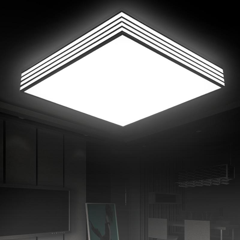 Song of State LED Ceiling Light rectangular acrylic ceiling living room modern minimalist bedroom lamp BG6