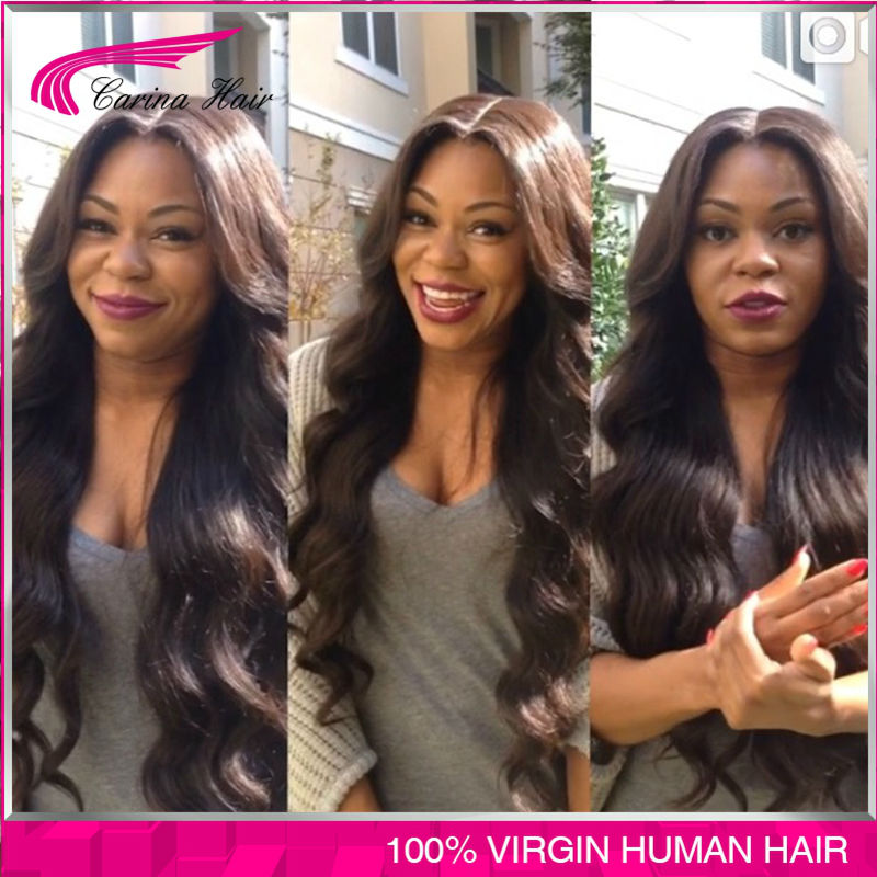 Full Lace Human Hair Wigs Front Lace Wigs Body Wave 150 Density Glueless Lace Front Human