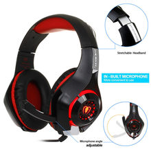 Yangmaile 3.5mm Wired Best Gaming Headset With Light Mic Stereo Big Headphones Gamer Gaming Headset for Computer PC PS4 A30(China)