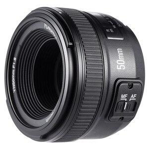 Image 4 - YONGNUO YN50mm F1.8 فتحة كبيرة السيارات عدسات تركيز DSLR كاميرا عدسات لكاميرات كانون لنيكون D800 D300 D700 D3200 D3300 D5100
