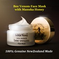 Genuine NewZealand Parrs Bee Venom Face Mask Manuka Honey Moisturizing face cream Face Lift Anti Aging cream Tighten &Firm skin