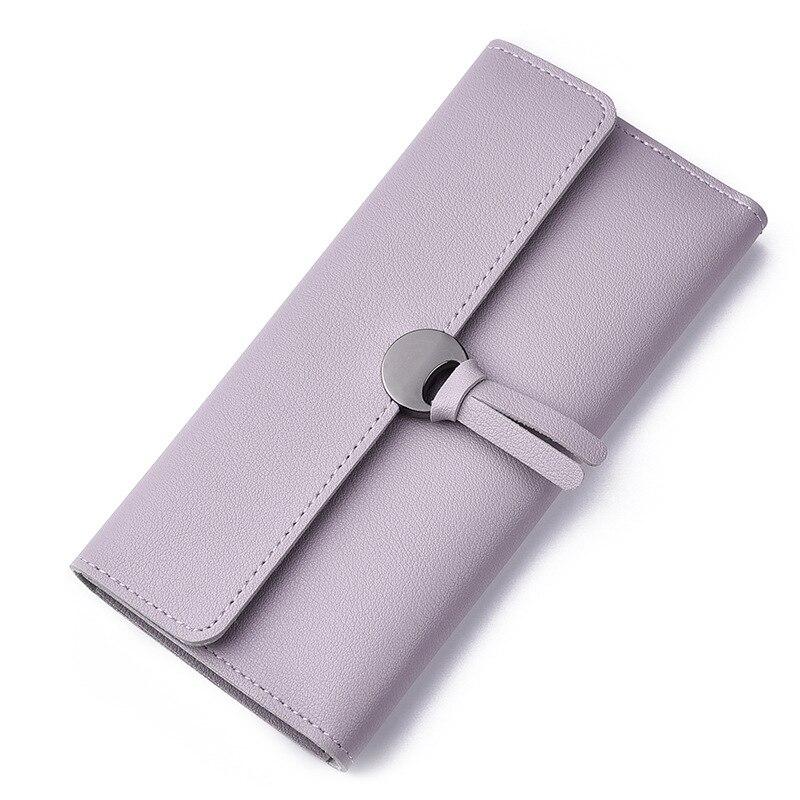 Kvinnors handväskor 30 procent mer kort plånbok nya damer mode - Plånböcker - Foto 2