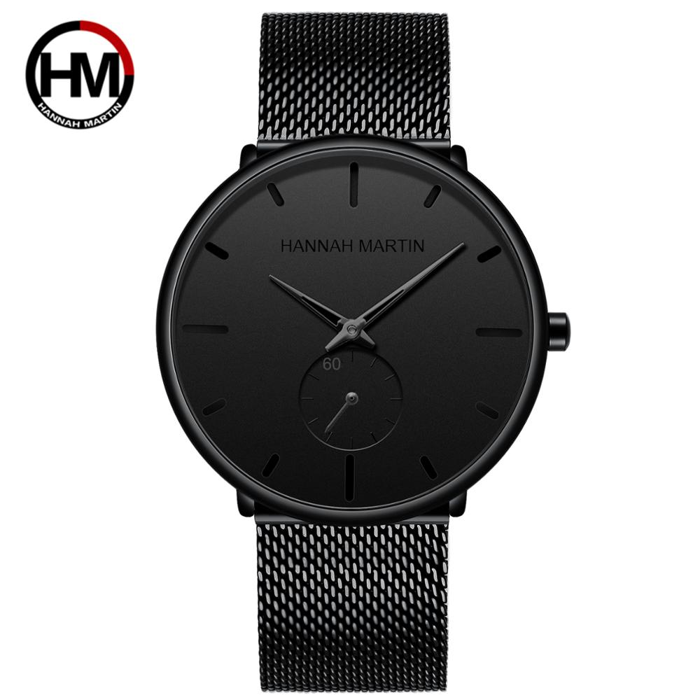 Dropship 2019 New Simple Design Waterproof Stainless Steel Mesh Small Dial Men Watches Top Brand luxury Quartz relogio masculino 5