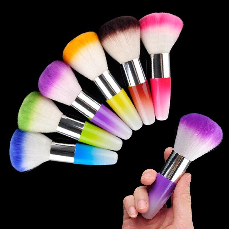 Nail Art Brush Cleaner: Nail Brush Acrylic UV Nail Gel Powder Nail Art Dust