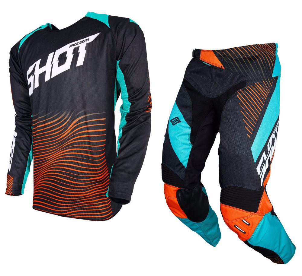 2018 MX RACEWAY Enduro Jersey Pant Combo Motocross Dirt Bike Racing Riding Gear Set-in Combinations from Automobiles & Motorcycles    1