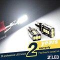 Envío gratis 2 unid LED smd T10 W5W posición odb Feux Veilleuses Blanc XENON EFFET 12 V Gire Aparcamiento Número Bombilla Lado de la Cuña
