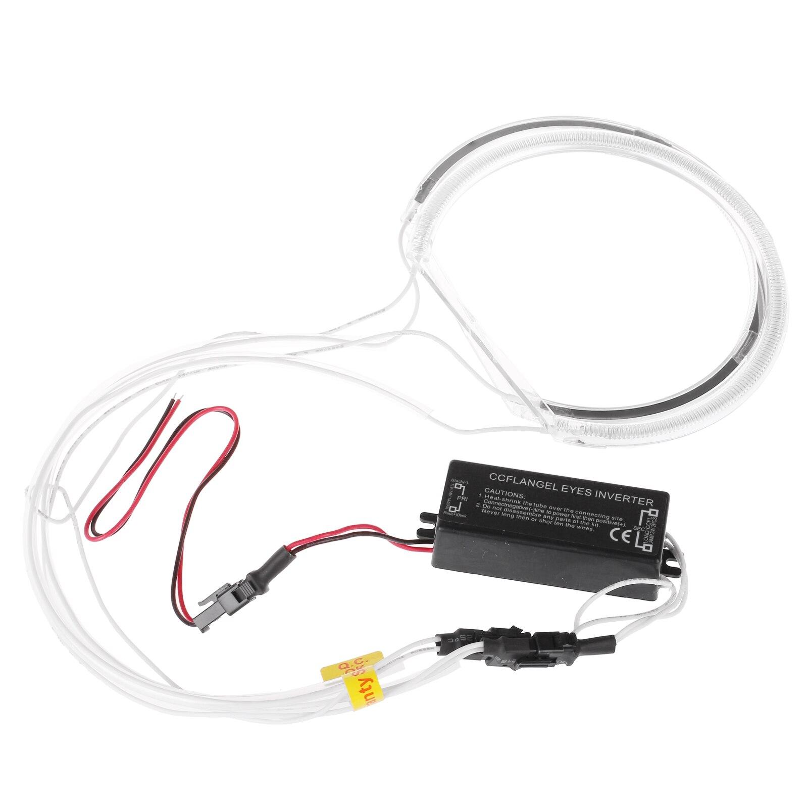 Image 5 - CCFL phare tubulaire Flexible 4 pièces  Ange Eagle Eyes, lumière blanche pour BMW E36 3 E38 7 E39 5 E46 (131*2 + 146*2), nouvelle collectionAccessoires pour feux de voiture   -