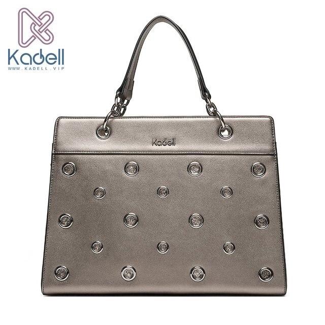 Kadell Роскошные Сумки Для женщин Сумки дизайнер алмаз сумка PU Сумки на плечо с ручкой сверху Повседневное Crossbody Кошелек женский Tote