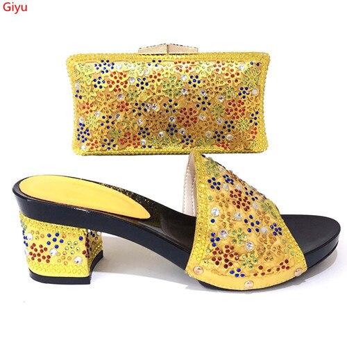Doershow chaussures chaudes et sac pour assortir la chaussure et le sac de femmes italiennes pour assortir pour des Parties chaussures africaines et sacs ensemble assorti! SKI1-18