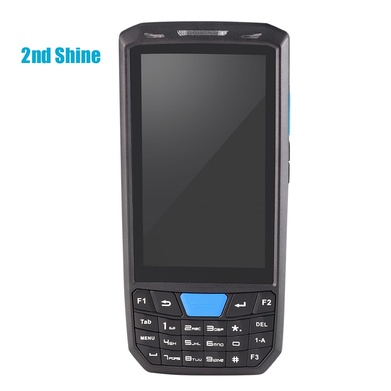 Handheld Industrial Rugged Android Tablet Com leitor de RFID Leitor de Scanner A Laser de código de Barras PDA 2D 2 + 16G RAM & ROM