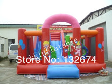 Amusement Park Inflatable Water Slide Bouncer Slide Castle