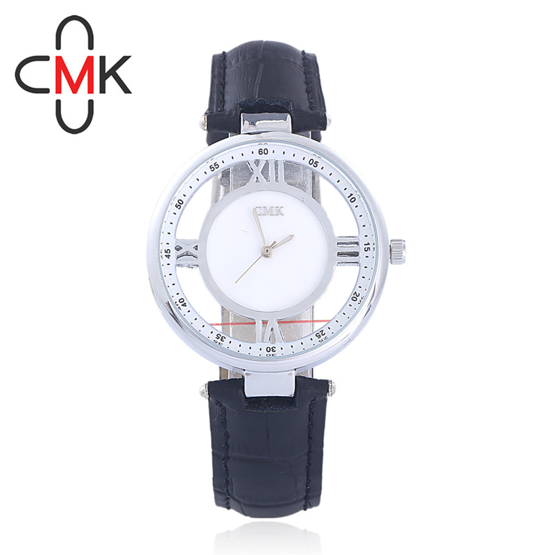 2017 Top Luxury Brand Women Casual Fashion Leather  Strap Unique Creative  Dial Watch Ladies Dress Quartz Watches Relojes Hombre odm luxury top brand 2016 new fashion and casual leather strap quartz women watch dma042