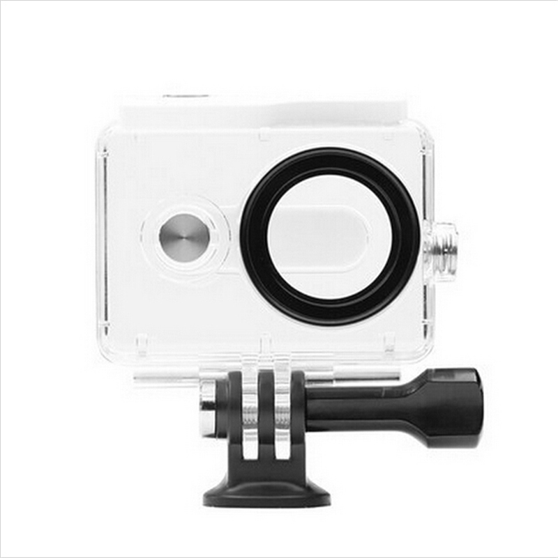 Original Xiaomi Yi Camera Waterproof Case Yi 40M Diving action Sports Waterproof Box Yi Camera Accessories