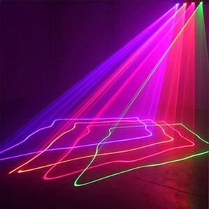 Image 5 - 3D scanner auto disco aluminm bühne laser licht club muster LED led bar dmx wirkung laser lichter dj professinaol projetcor