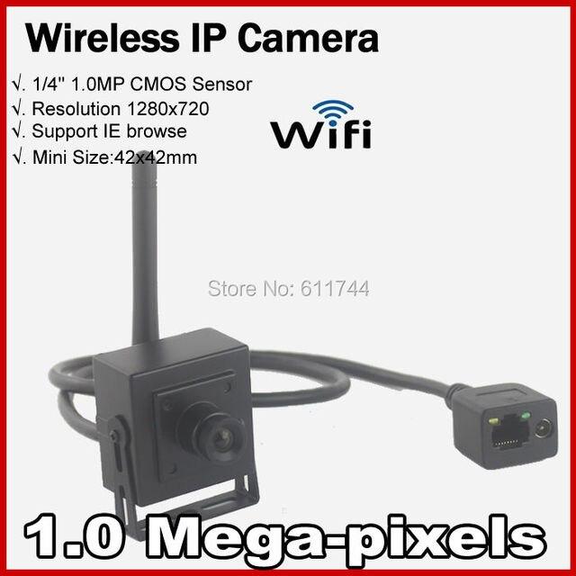 Бесплатный shippingHigh Разрешение 720 P Сети дом Securiy CCTV Мини WI-FI Беспроводная ip-камера 1.0MP Поддержка ONVIF 2.0 P2P H.264