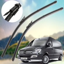 26″ 24″ New Front Aero Windscreen Flat Wiper Blades D For Mercedes Sprinter 2006-2016