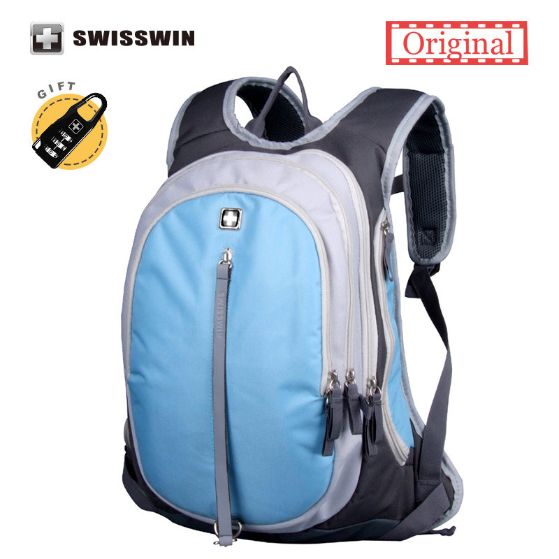 Swisswin School Backpack for Teenagers Girls Boys Waterproof Travel Bag Swiss 13.3 inch Laptop Backpack Gear Backpack Male 16 inch anime game of thrones backpack for teenagers boys girls school bags women men travel bag children school backpacks gift