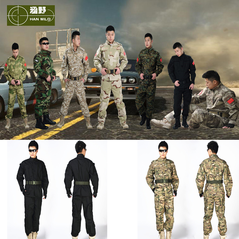 Good Quality Army Sniper Camouflage Clothing Military USMC Tactical Hunting Shooting Suit Army Traning Uniform camo suit outdoor game military hunting and shooting accessories tactical camouflage clothing blind for airsoft wildlife photog