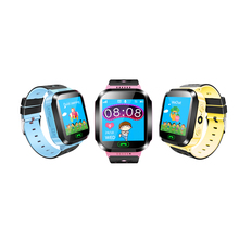 Cheap and high quality with flash light mini gprs gsm kids watch