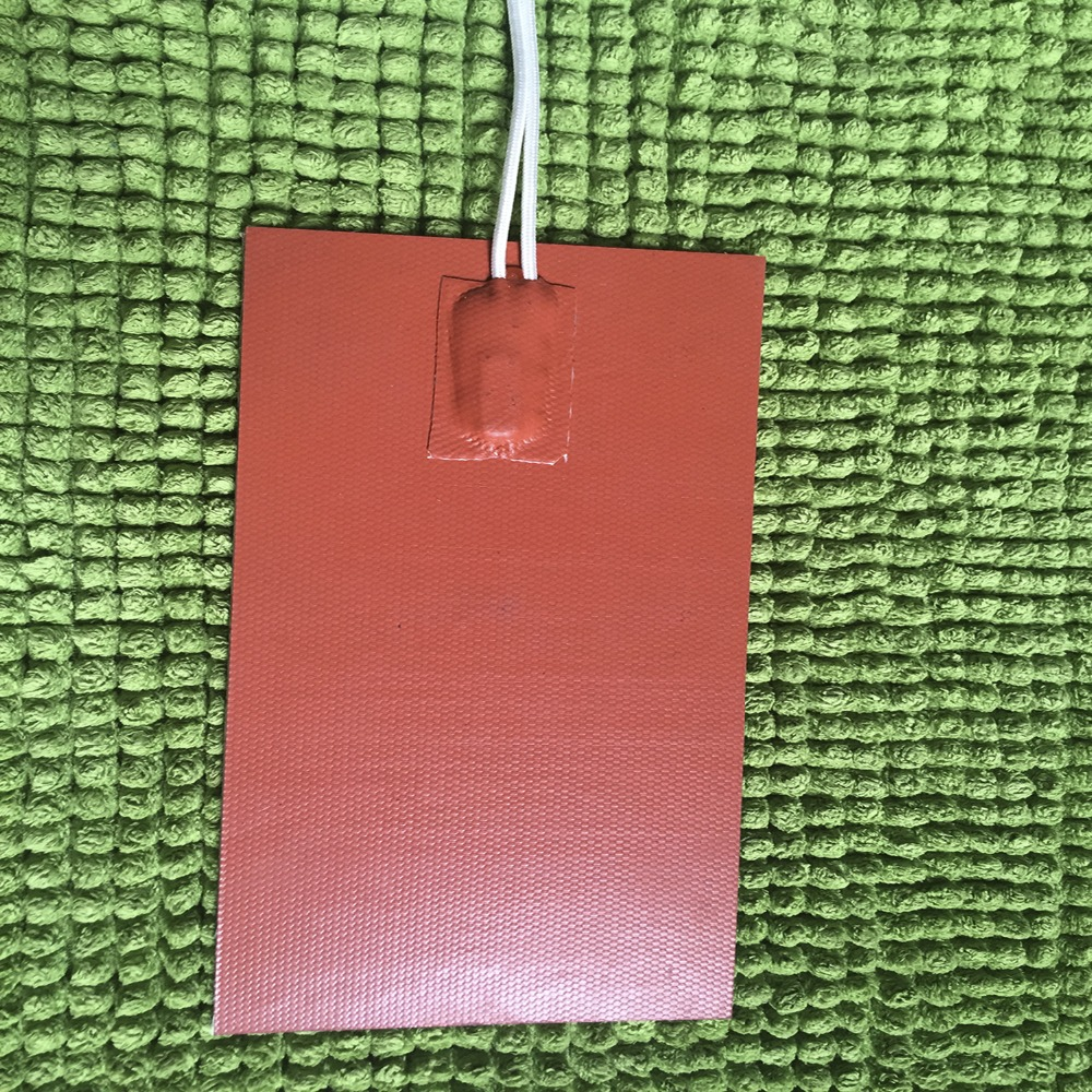 Plaque de thermostat w/Deg 50C pour le réchauffement de l'huile moteur dans la voiture 100X300mm 12 V 60 w filtre de voiture réchauffeur Silicone coussin de chauffage