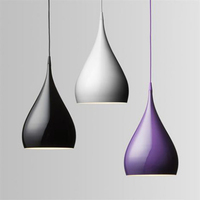 fashion modern Carlo spinning aluminum pendant light home deco bar counter lamp e27 pendant lamp