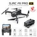 Dron SJRC F11 PRO GPS con Wifi FPV 1080 P/2 K cámara HD F11 cuadricóptero sin escobillas 25 minutos tiempo de vuelo plegable Dron Vs SG906
