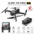 SJRC F11/F11 PRO GPS Drone Con Il Wifi FPV 1080 P/2 K HD Camera Brushless Quadcopter 25 minuti Tempo di Volo Pieghevole Dron Vs SG906