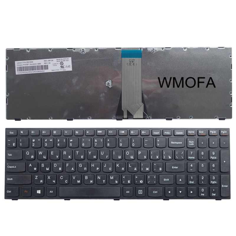 RU Black New For Lenovo G50-70 G50-45 B50 G50 G50-70AT G50-30 Z50 Z501 G50 Z50 B50 G50-70 Z501 Laptop Keyboard Russian 10 шт бесплатная доставка в наличии nt5tu32m16ag 37b