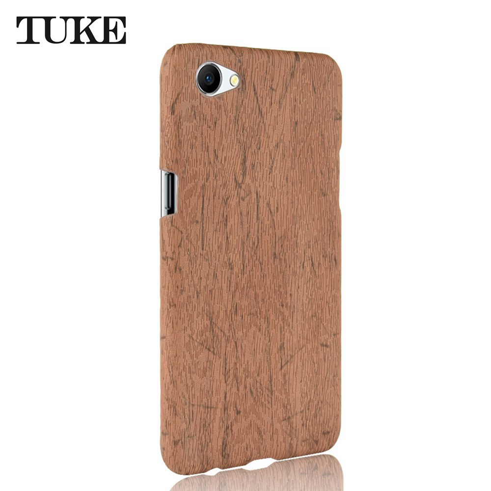 Phone Case For OPPO A71 Mobile Phone Case Wood Grain Coque