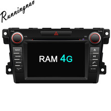 Octa Core RAM 4G ROM 32G Android Fit MAZDA CX-7 2007 – Car DVD Player Navigation GPS Radio