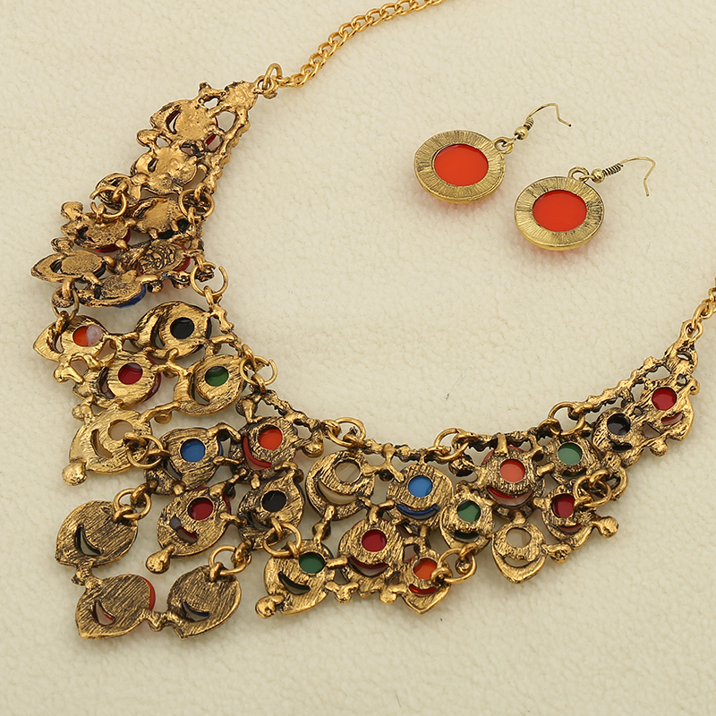 weight necklace nakshi gold traditional light antique
