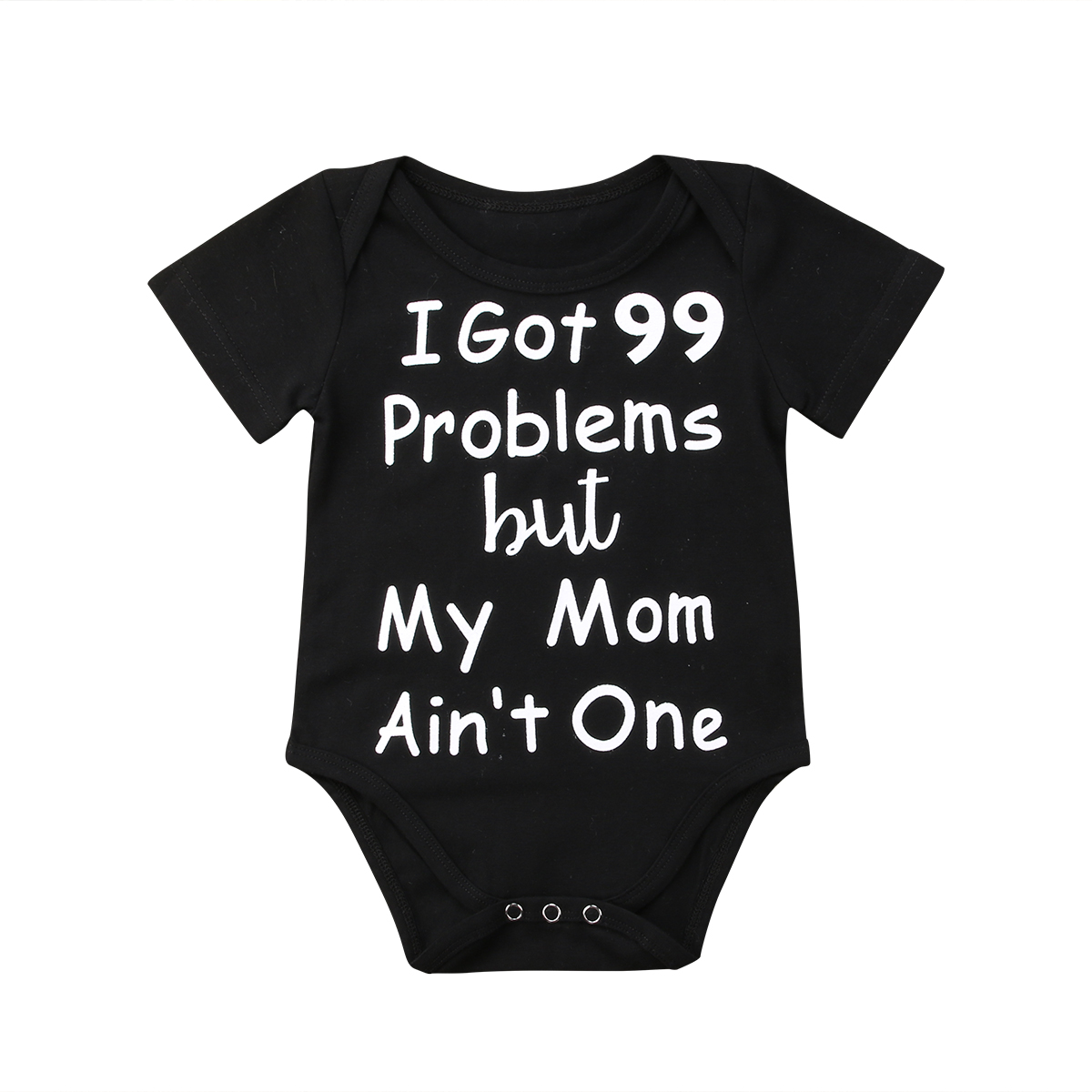 492ad4e497 2018 Newborn Infant Baby Boys Girls Cotton Short Sleeves Bodysuit Jumpsuit  Clothes Letters Black Casual Outfits