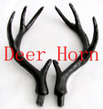 Free shipping deer horn for head and property