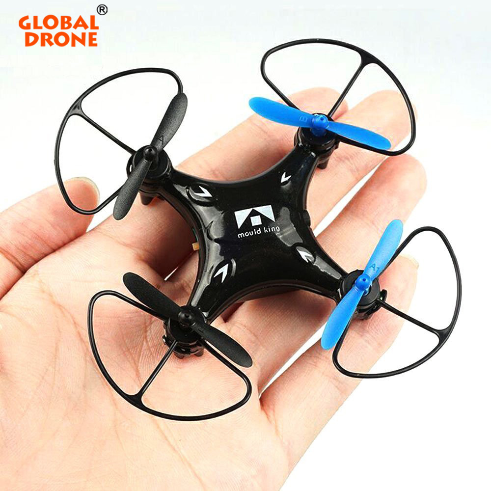 Global Drone 33058 6 Axis Micro Quadcopters With Headless Mode One Key Return Mini Dron 3D-flip rc helicopter