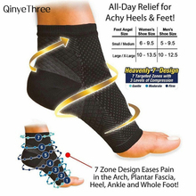 Man Women Anti Fatigue Compression Foot Sleeve Foot Ankle Compression Socks Anti Fatigue Varicose Feet Sleeve 1pc ( NOT 1Pair)