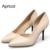 Nuevo 2016 Primavera Verano Moda OL Dama Sexy Zapatos de tacón Fino de Punta estrecha Mujeres Bombas Tacones Altos Zapatos de Fiesta de Bodas Mujer D50