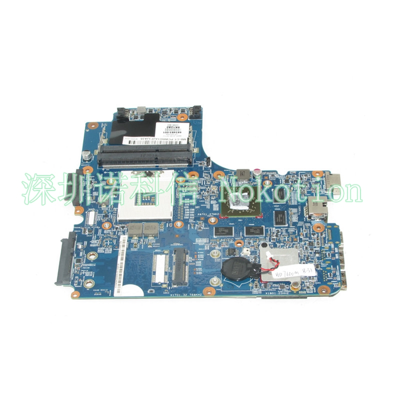 NOKOTION 683493-001 Main board For HP ProBook 4440s 4441s 4540s Laptop motherboard ATI HD 7650M HM76 DDR3 full works 683494 501 for hp laptop mainboard 683494 001 4440s motherboard 4441s laptop motherboard 100% tested 60 days warranty