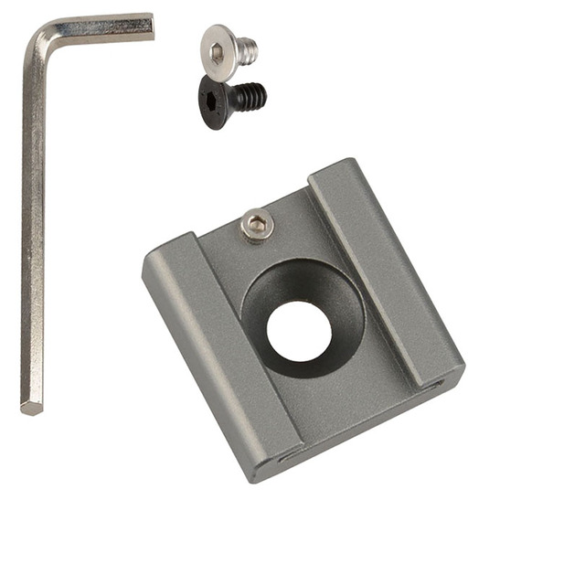 Photo Studio Accessories Cold Hot Shoe Mount Adapter With 1/4 Hexagonal Screw And Spanner Fr DSLR Camera Fotografia C1340