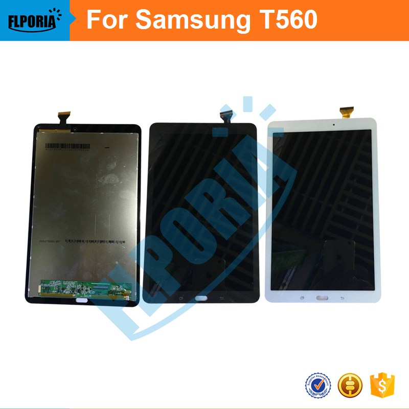 Tablet LCD For Samsung Galaxy Tab E 9.6 SM-T560 T560 T561 Display +Touch Screen Digitizer Glass Assembly Panel LCD Combo for samsung galaxy tab 4 7 0 sm t230 t230 full lcd display panel black touch screen digitizer glass assembly replacement