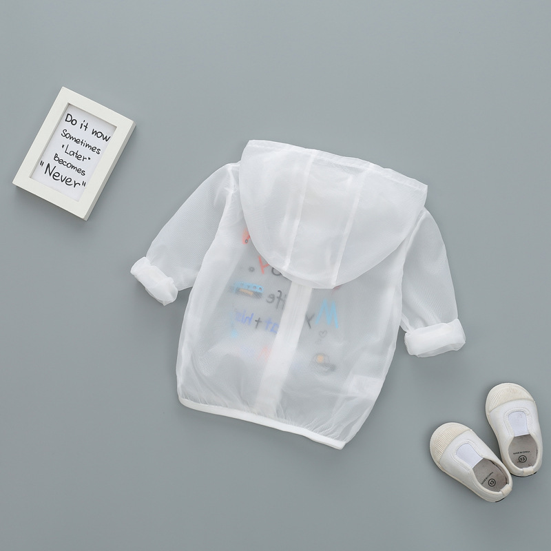 Bolero menina Kids clothes Girls outerwear Boys Sunscreen summer Jacket Baby girls print air conditioning hooded coats