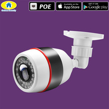 Golden Security Outdoor 1080P PoE Camera 720P ONVIF Waterproof IP CCTV 36PCS IR LED