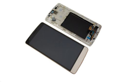 ФОТО New LCD Display + Touch Digitizer Screen glass FOR LG G3 mini D722 D724 LCD with Frame Free Shipping