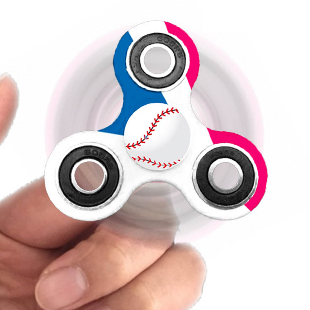 Spinner Baseball Fidget Toy Plastic EDC Spinner Hand For Autism And ADHD Anxiety Stress Relief Focus Toys Kids Gift