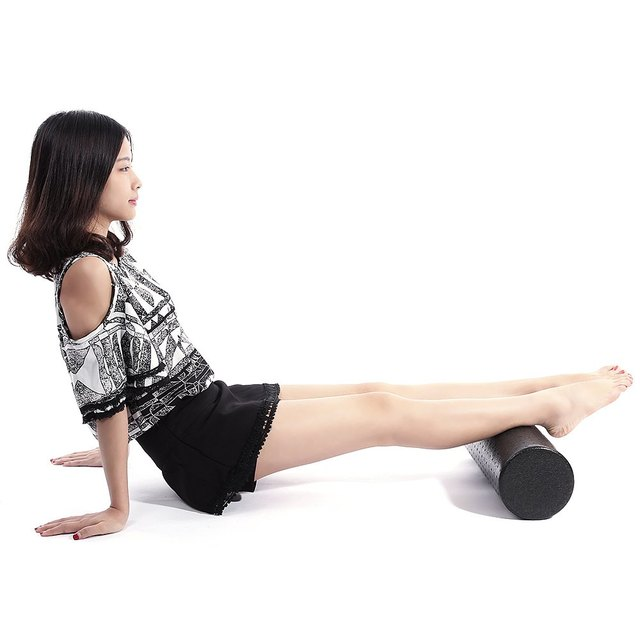 Foam Roller for Muscle Relaxation and Physical Therapy