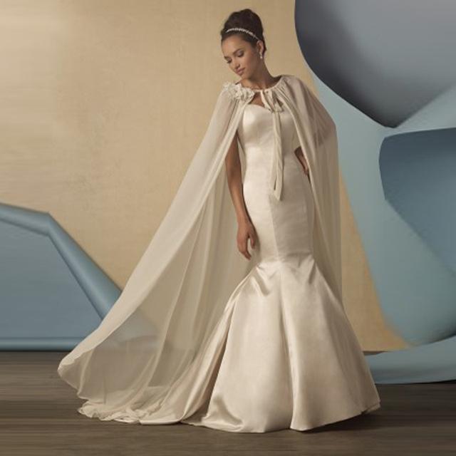 Vindima Outono Inverno Longo Casacos de Casamento Wraps De Noiva Até O Chão Manto De Noiva 2016 Wedding Bolero Acessórios Do Casamento